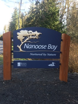 Nanoose Bay Sign